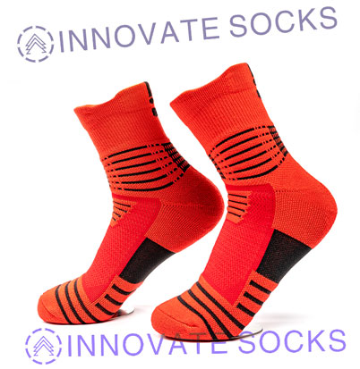 Basketball Gym Elite Compression Athletic Socks