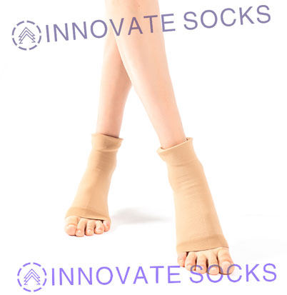 Foot Care High Elastic Medical Sport Plantar Fasitis Compressione Socks-2